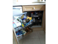 Kitchen storage - Rejs swing out right hand corner storage unit