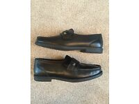 BRAND NEW Comfort Club By RTJ black leather male loafers/moccasins UK 7 EUR 41 £35 ONO
