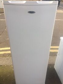 FRIDGEMASTER FREEZER 145cm TALL 55cm WIDE FREE DELIVERY AND WARRANTY