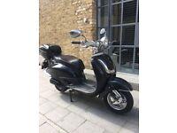 2014 Yiying Retro 125cc Low Mileage , New Mot , £649