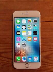 Iphone 6 - 128GB Unlocked + in great condition