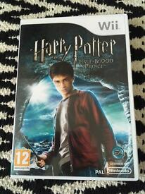 Harry Potter Wii game