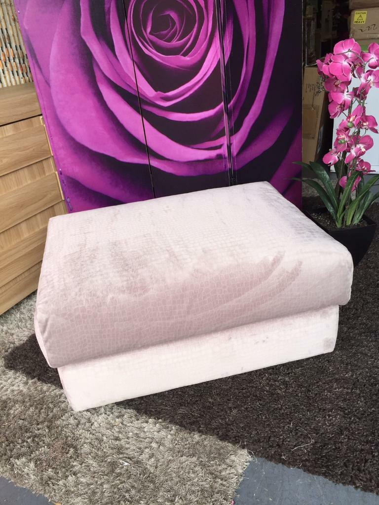 Furniture Village G Plan new furniture village g-plan lilac fabric footstool | in stockport