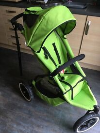 Phil & Teds Sport including doubles kit, raincover and sun shade.