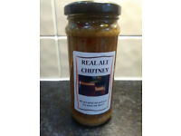 Chutney's in 12oz/340g Jars Real Ale, Hot Garlic Pickle, Beetroot.