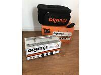Orange Tiny Terror guitar amp head, Boxed, with 'Orange' carry Case