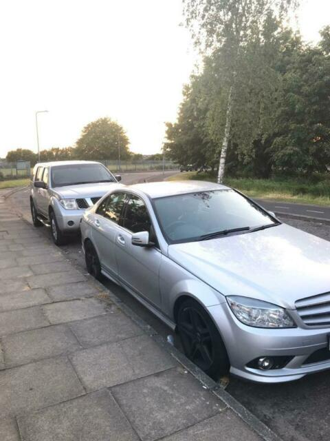 Mercedes c220d sport (09) Nissan pathfinder (56) | in East London, London |  Gumtree