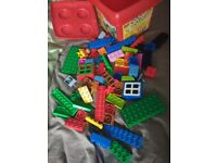 Duplo and Lego storage tub