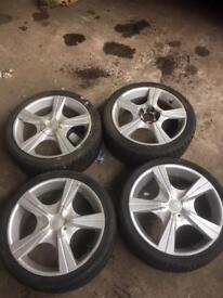 Toyota mr2 alloys n shocks