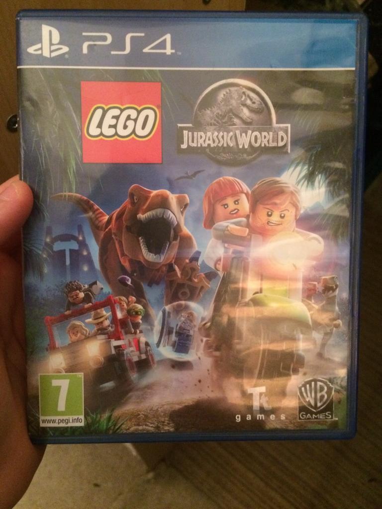 Lego Jurassic world Sony PS4 game