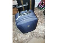 Small cabin suitcase blue