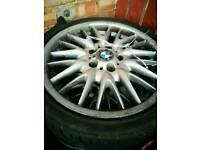 BMW MV1'S alloys read first