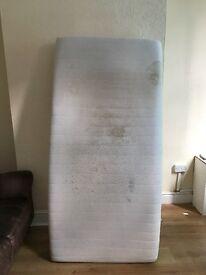 High Density Foam Hypoallergenic Single Mattress.