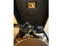 His master's voice gramophone 1930s with extras
