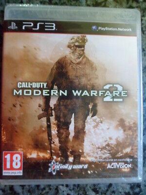Call of Duty Modern Warfare 2 PS3 Nuevo Acción shooter táctico en...