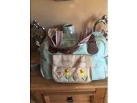 Pink Lining Blooming Gorgeous Baby Change Bag