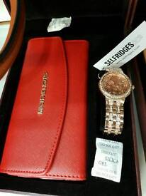 💥MICKEAL KORS WATCH AND PURSE GIFT SET💥