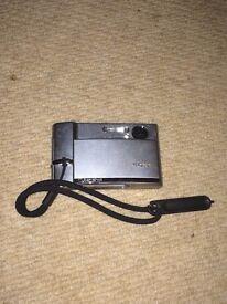 Sony DSC-T50 digital camera silver 7MP touchscreen