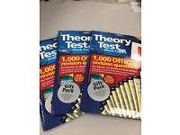 Theory test papers