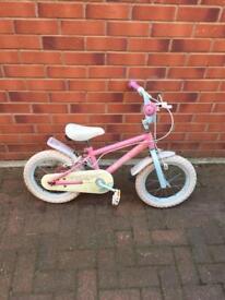 "Girls bike 14"" wheels size Bargain"