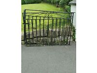 Used iron gates for drive
