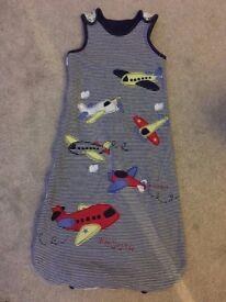 TU Grobag/sleeping bag - Aeroplane Design - 18-24 months