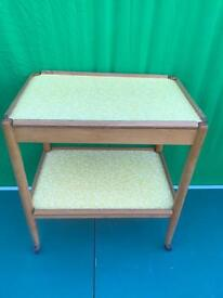 Retro serving trolley FREE DELIVERY PLYMOUTH AREA