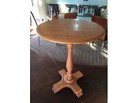 Solid Oak Tall Bar Tables