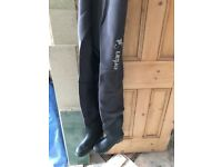 Caperlan chest fishing waders, In great condition, Waders, Thermal neoprene,