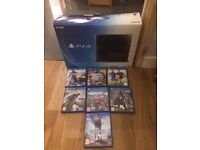 PS4 500GB with 7 Games. Boxed, Good Condition.