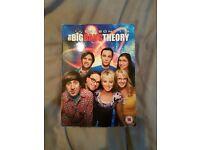 The Big Bang Theory Seasons 1-8 DVD Boxset