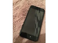 Takes any network. iPhone 7 jet black basically brand new brilliant condition