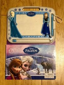 Frozen Storybook with Magic Writing Pad