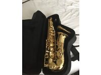 Classic Trevor J James saxaphone with case