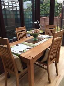 Xxxx Price dropped xxx. Dinning Table and 4 chairs