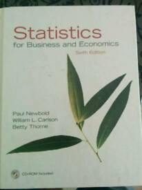 Statistics for Business and Economics 6th edition