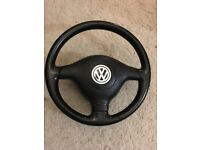 Golf mk4 GTI steering wheel + airbag
