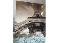 Large Eiffel Tower canvas Frame