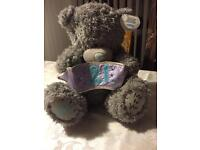 """Large """"ME TO YOU"""" 21st Birthday Bear - NEW With Tags"""