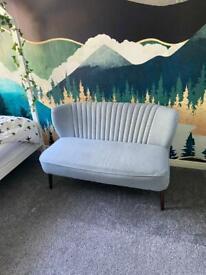 Grey sofa small - modern and stylish