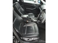 BMW e46 SE saloon black leather interior, heated, mint