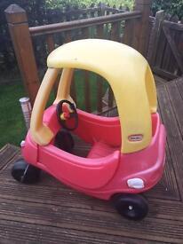 Little Tkyes car