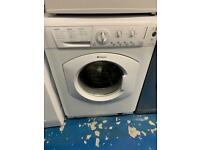 Hotpoint white good looking 6kg washing machine