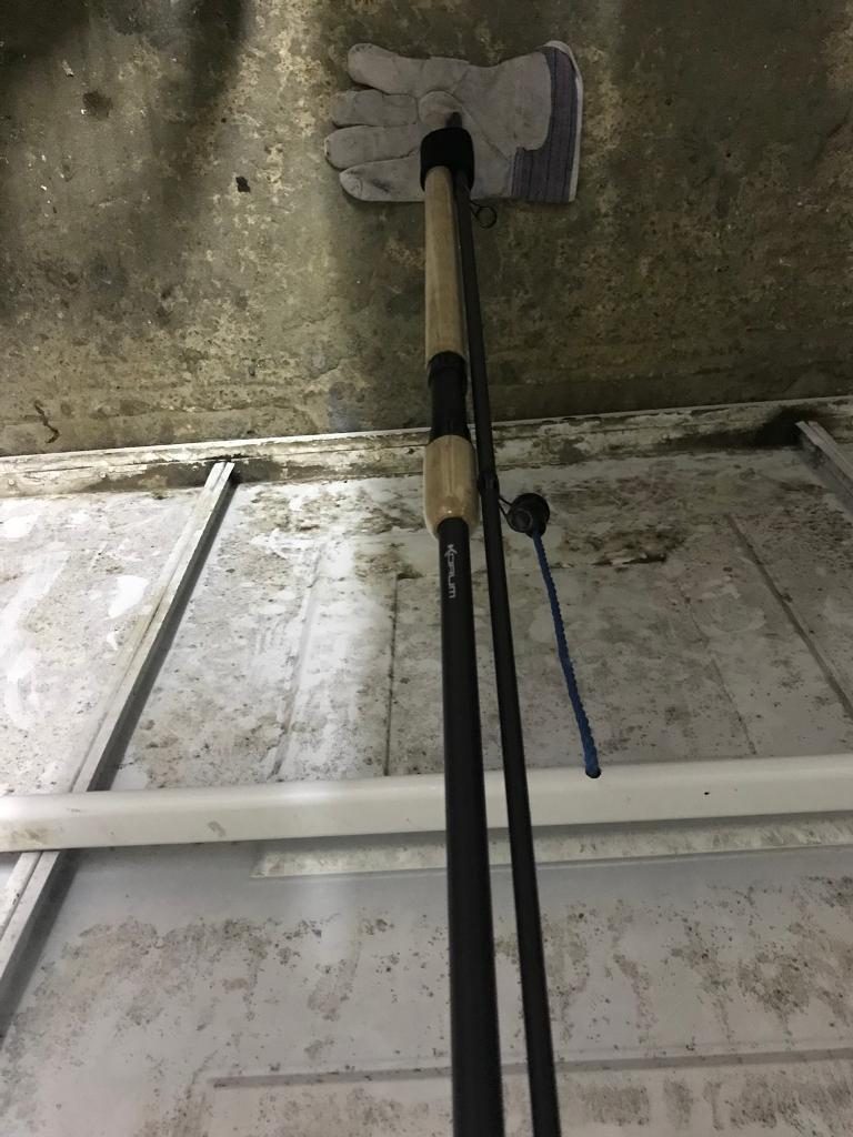 Korum Barbel rod 12' 2lb test fishing rod