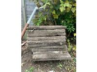Garden slabs 2x2