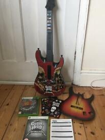 Guitar Hero bundle for Xbox 360