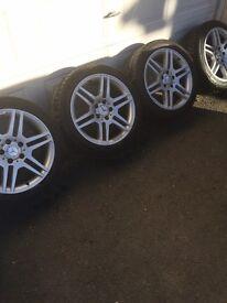 """17""""AMG Mercedes Alloys"""