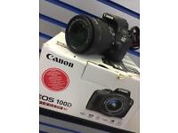 Canon EOS 100D EF-S 18-55 IS STM