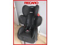 Recaro Young Sport 1/2/3 Child Car Seat Performance Black 9-36kg