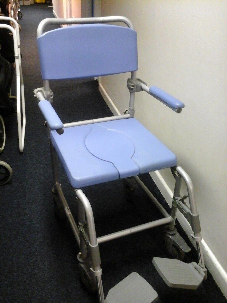 Wheeled shower chair/seat | in Fareham, Hampshire | Gumtree